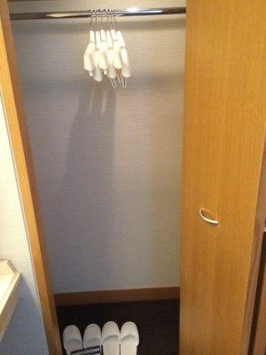 鎌倉プリンスホテルのクローゼット