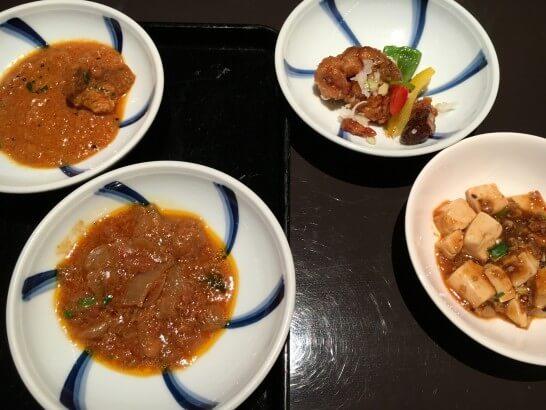 ヒルトン東京ベイの夕食 (3)