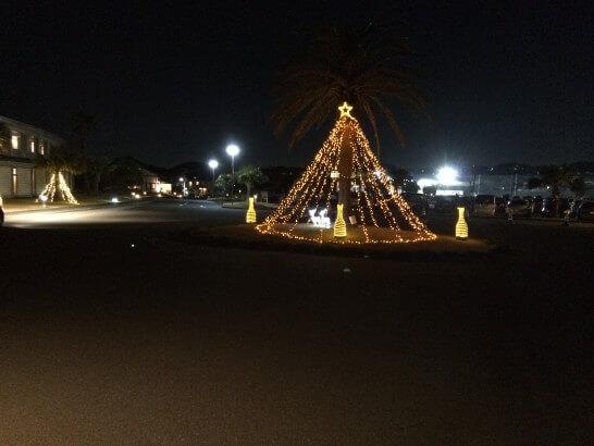鎌倉プリンスホテルの入口(夜)