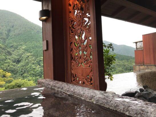 箱根吟遊の露天風呂