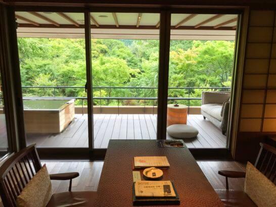 箱根吟遊の客室