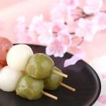 桜の花と団子