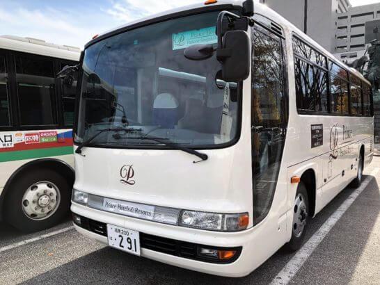 ザ・プリンス 箱根芦ノ湖の送迎バス