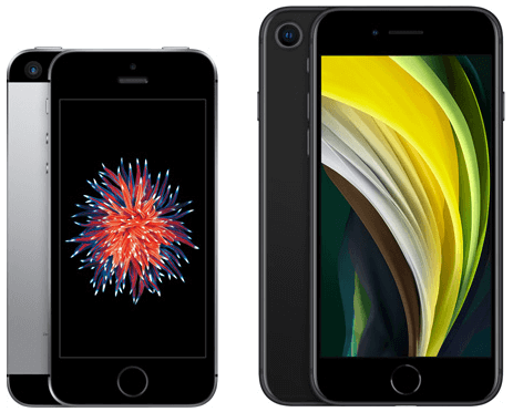 iPhone SE(第1世代と第2世代)