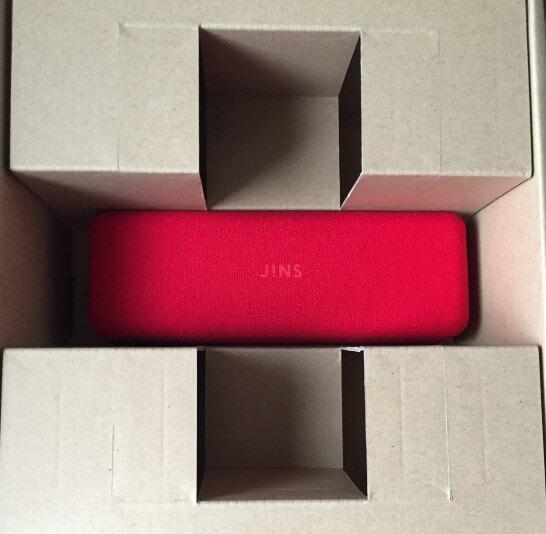 ネットで買ったJINSの眼鏡