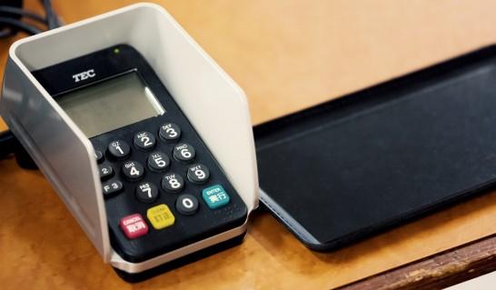 クレジットカード決済用端末