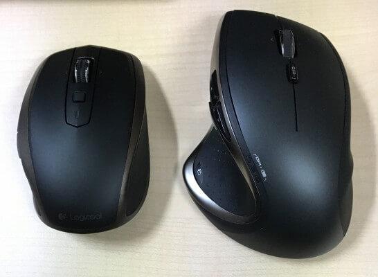 MX1500とm950t(上部)