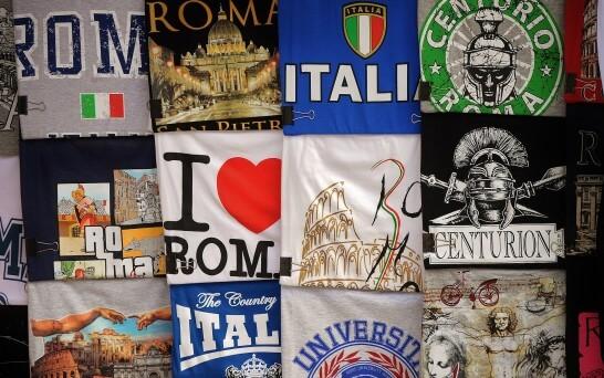 イタリアのお土産のTシャツ