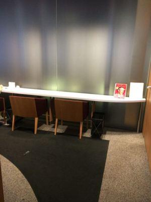 ダイナースクラブ 銀座ラウンジのカウンター席