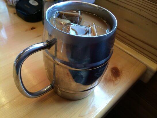 コメダ珈琲のアイスコーヒー