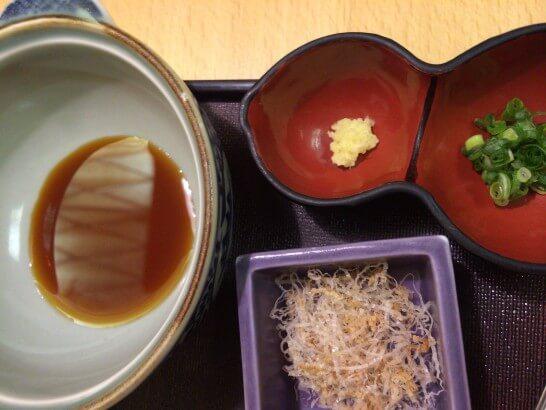 界伊東の朝食の湯豆腐の味付