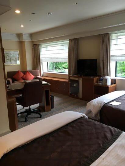 ロイヤルパークホテルの室内