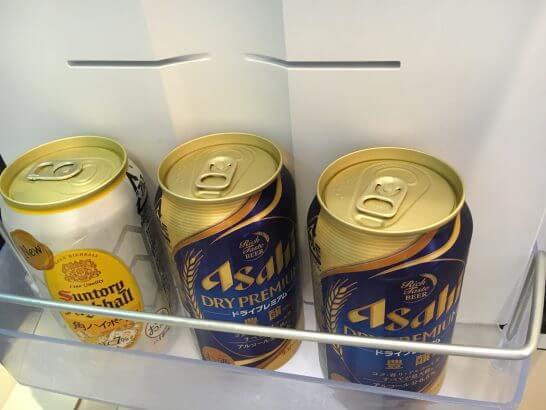 ホテルニューオータニ幕張の冷蔵庫(一休ダイヤモンド会員の特典) (1)