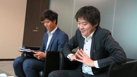 SBI証券 商品開発部の杉本部長、稲葉さん (4)