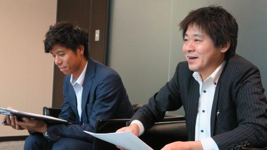SBI証券 商品開発部 杉本部長、稲葉さん