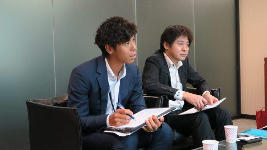 SBI証券 商品開発部の稲葉さん、杉本部長