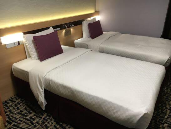 ホテルメトロポリタンエドモントのベッド