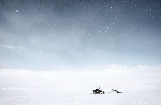 海外の雪景色