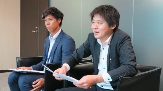 SBI証券 商品開発部の杉本部長、稲葉さん