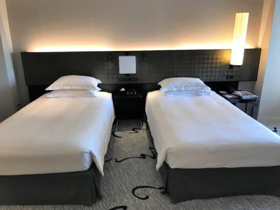 ヒルトン東京のベッド