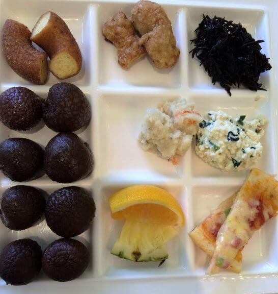 休暇村奥武蔵の朝食2