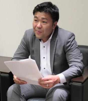 岡三オンライン証券の田村篤史さん