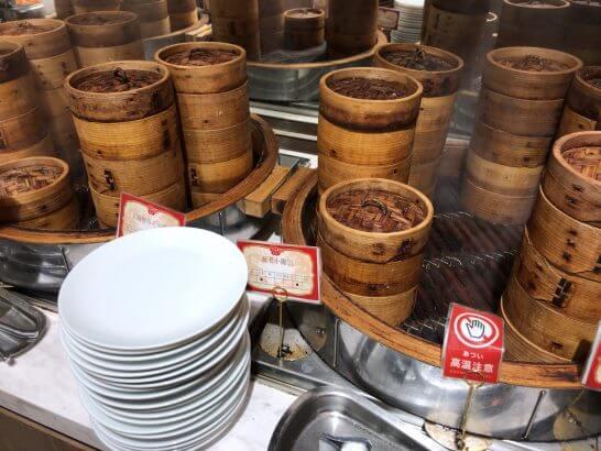 中華レストランの小籠包