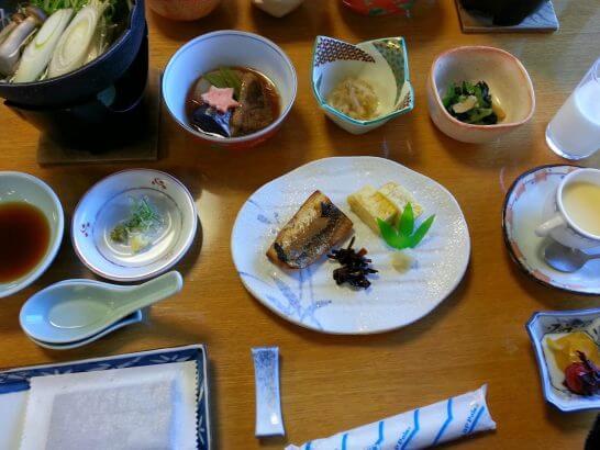 葉山 相洋閣の朝食