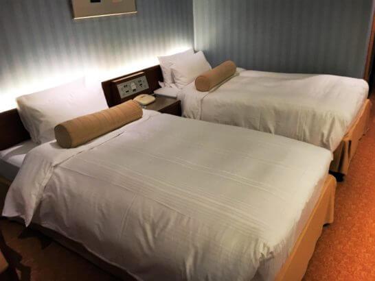 ニューオータニ東京のベッド