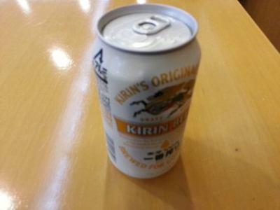 熊本空港のラウンジ「ASO」でもらえる缶ビール