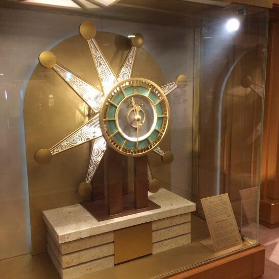 帝国ホテル東京の時計
