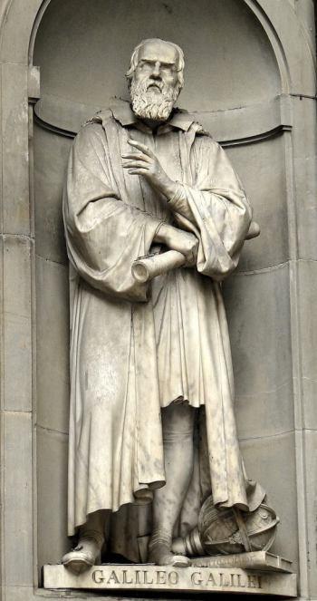ガリレオの像