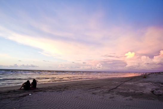 リゾートの海辺