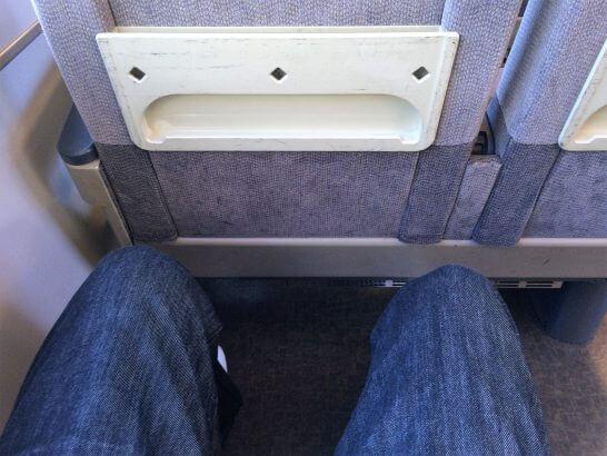 JR西日本の特急はるかの座席