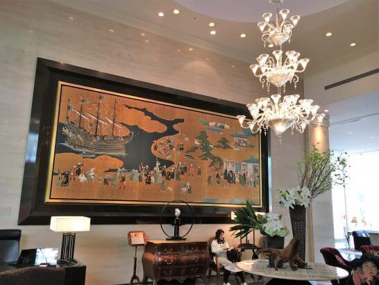 ウェスティンホテル大阪のロビー