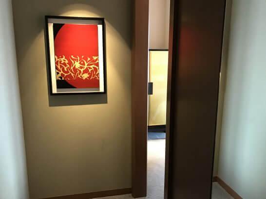 セントレジス大阪の入口