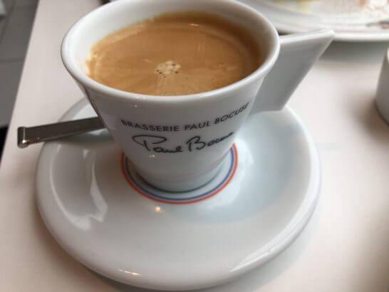 ブラッスリー ポール・ボキューズ 大丸東京のコーヒー