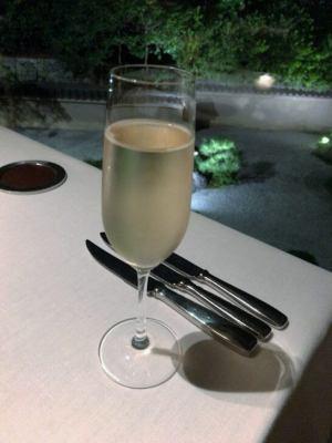 ハイアットリージェンシー京都「THE GRILL」のスパークリングワイン