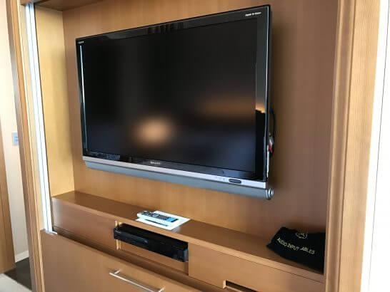 セントレジスホテル大阪のテレビ