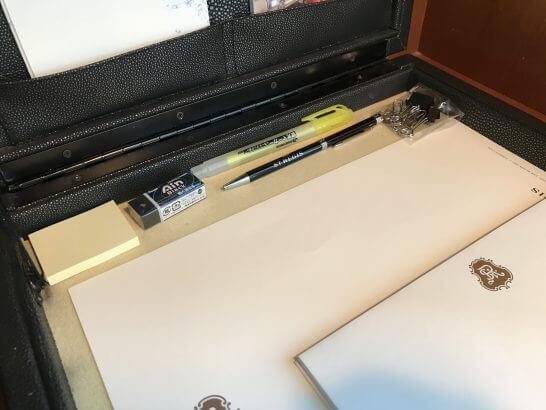 セントレジスホテル大阪の文具類