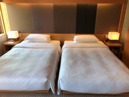 ハイアットリージェンシー京都のベッド