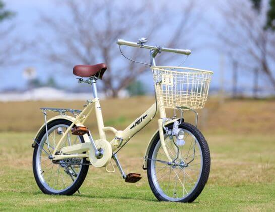 パームブレーキバー付き自転車