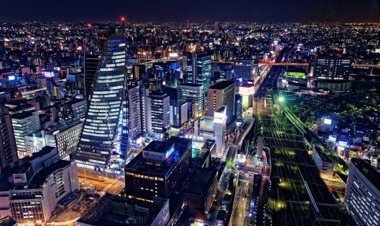 名古屋の夜景