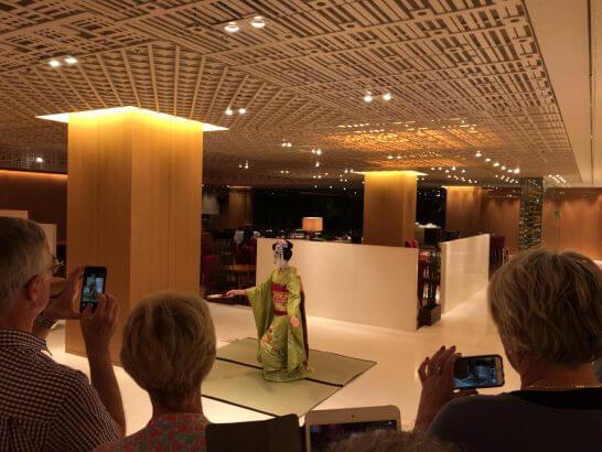 ハイアットリージェンシー京都の舞妓さんの舞踊