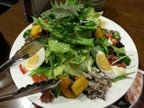 ワタミのサラダ