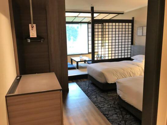 伊豆マリオット・ホテル修善寺の和洋室