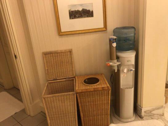 ザ・リッツ・カールトン大阪「The Ritz-Carlton Spa」のウォーターサーバー