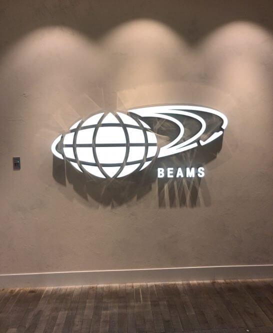 ビームス(BEAMS)のロゴ