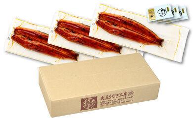 国産うなぎ串蒲焼き300g(静岡県 焼津市)の梱包イメージ