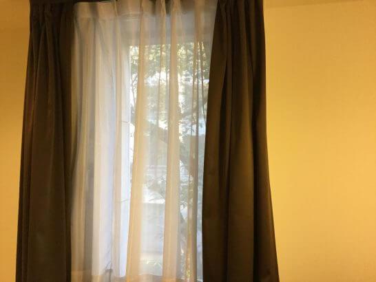 センターホテル東京 (客室の窓)